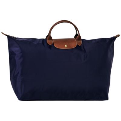 Sac de voyage XL Le Pliage de Longchamp couleur Navy
