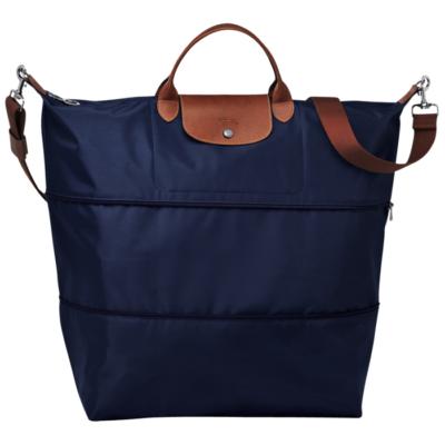 Sac de voyage extensible Le Pliage Longchamp couleur Navy
