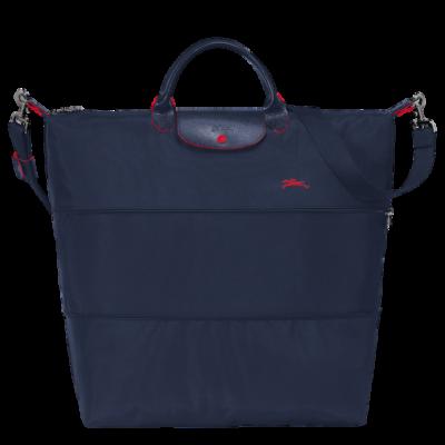 Sac de voyage extensible Le Pliage Club de Longchamp couleur navy