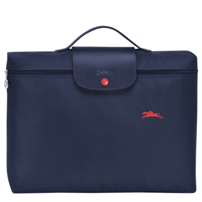 Porte-documents Le Pliage Club Longchamp de couleur navy