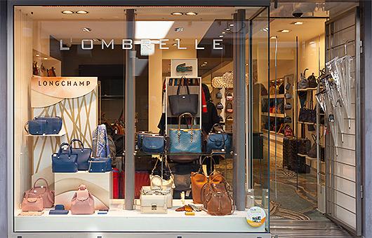 Magasin L'Ombrelle, agréé Longchamp, à Quimper