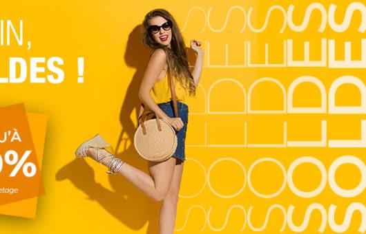 Annonce des soldes de juillet - août 2020 - Magasin de maroquinerie l'Ombrelle à Quimper