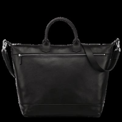 Sac de voyage Le Foulonné de Longchamp couleur noir