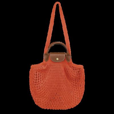 Le Pliage Filet Longchamp sac porté main Orange