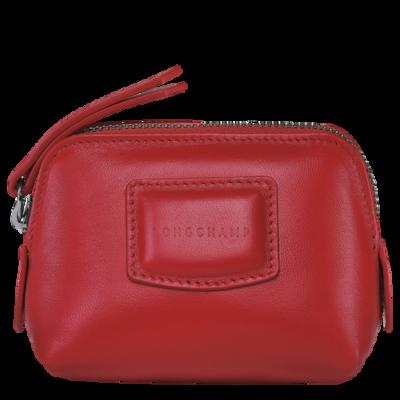 Brioche porte-monnaie Longchamp Rouge