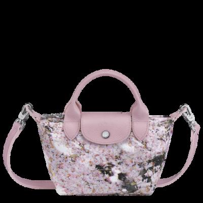 Le Pliage Bouquet sac porté main XS Longchamp Rose