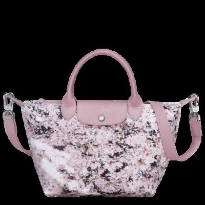 Le Pliage Bouquet sac porté main S Longchamp Rose