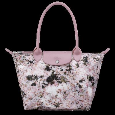 Le Pliage Bouquet sac porté épaule S Longchamp Rose