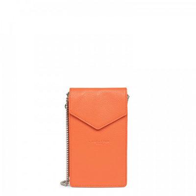 Lancaster Le Foulonné PM pochette smartphone orange